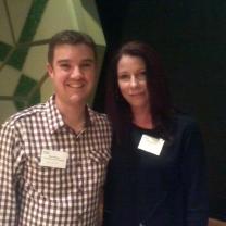 Me and Vikki Wakefield