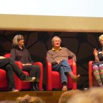 Paul Callaghan, Fiona Wood and John Flanagan