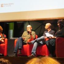 Gayle Forman, Morris Gleitzman and Keith Gray
