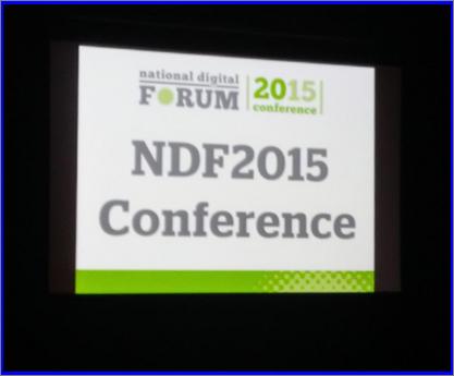 NDF2015 conference slide