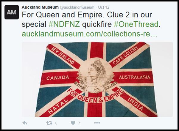 Screenshot of #OneThread tweet